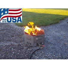 Stainless Steel Portable Propane Fire Pit