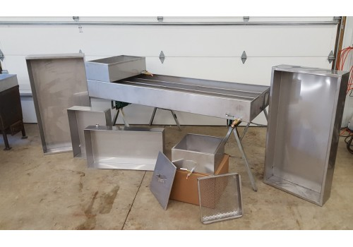 Silver Creek Maple Equipment Maple Syrup Evaporator Pans
